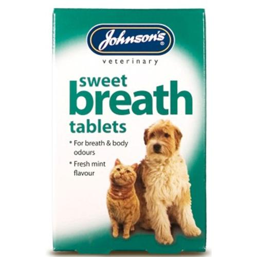 Johnson's Sweet Breath Tablets For Dog And Cat