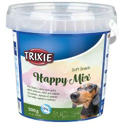 Trixie Soft Snack Happy Mix Training Treats Tub (500g)