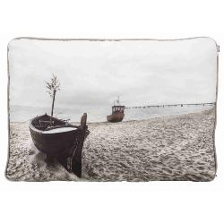 Beach Cushion Dog Bed with removable cover 80 X 60cm