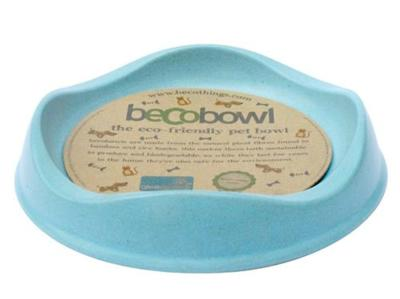 Becobowl Eco-Friendly Biodegradable Pet Bowl For Cats, Blue 0.25 Litre