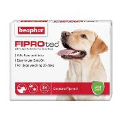 MOOSE'S SIGHTHOUND TRUST DONATION - Beaphar Fiprotec Flea Spot On (Large Dog) X 3