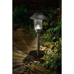 Gardman Solar Aluminium Post Light