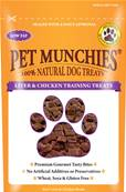 Pet Munchies Hypoallergenic Dog Treats - Liver and Chicken Training Treats 50g