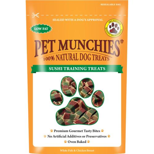 Pet Munchies Natural Meaty Training Treats (50g)