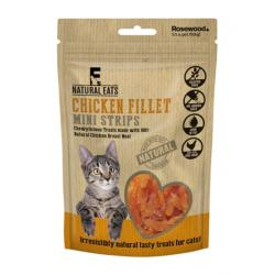 Rosewood Natural Eats Cat Treats - Chicken Fillet Mini Strips 50g
