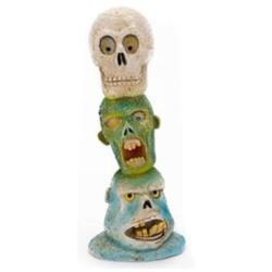 The Swimming Dead Ornaments - Zombie Skull Totem Pole