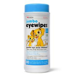 Petkin Jumbo Eye Wipes 80pcs