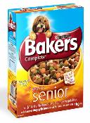 Bakers Complete Dog Food (Senior 7+) - Chicken, Rice and Vegetables 1kg