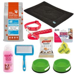 Basic Dog Starter Bundle (Adult Size 1) - Small