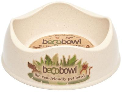 Becobowl Eco-Friendly Biodegradable Pet Bowl For Dogs, Natural / Small 0.5 Litre