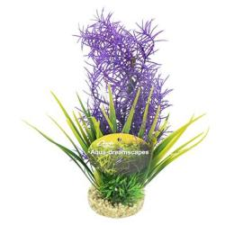Cheeko Aqua Dreamscapes Aquatic Plant - Purple Cocktail Plant 25cm