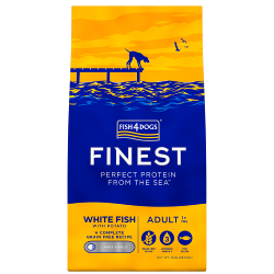 Fish4Dogs Finest Grain Free Dog Food - White Fish with Potato (Adult Large Breed)