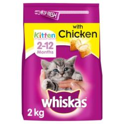 CLAWS Donation - Whiskas Kitten Food 2kg