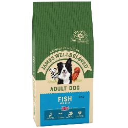 James Wellbeloved Gluten Free Dog Food (Adult) - Fish and Rice 2kg