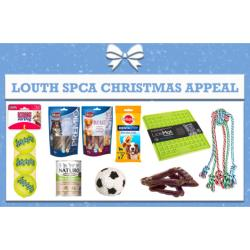 LOUTH SPCA DONATION - Christmas Appeal Box For Dogs - Approx €20