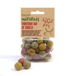 Rosewood Naturals Christmas Bag Of Baubles 100g
