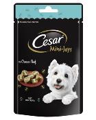 Cesar Mini-Joys With Cheese & Beef 100g