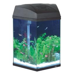 Fish R Fun Hexagon Tank 21.6 Litres Black