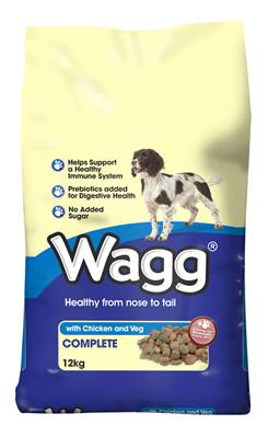Wagg Dog Food - Chicken and Veg 12kg