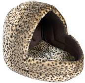 Trixie Leo Cuddly Cave Leopard Pattern/Brown 35x35x40cm