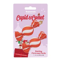 Rosewood Cupid & Comet Rattling Christmas Candy 2 pack