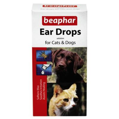 Beaphar Ear Drops For Dogs And Cats 15ml