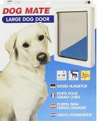 Dog Mates Dog Door- Large / White