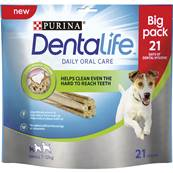 Dentalife Dog Dental Chew Treats - Small, 21 Sticks
