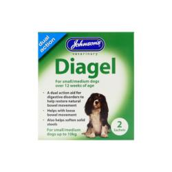 Johnson's Veterinary Dual Action Diagel Sachets for Dogs