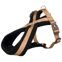 Trixie Premium Touring Dog Harness - Caramel