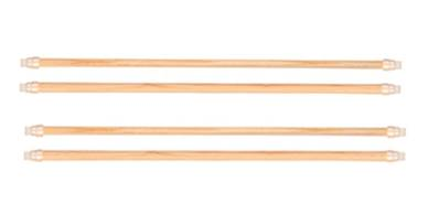 Trixie Set Of Wooden Perches - 2 x 2 (4) Perches (44x10 And 44x12mm)