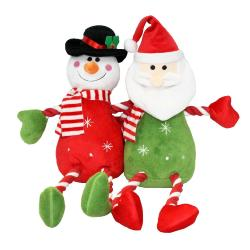 Armitage Pawsley Plush Hug Tug Santa & Snowman