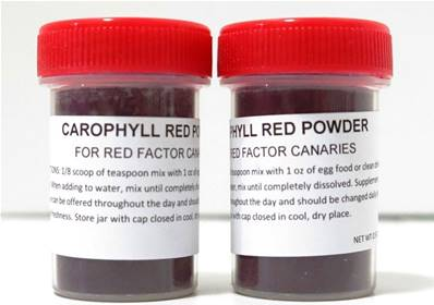 Carophyll Red For Canaries 15g