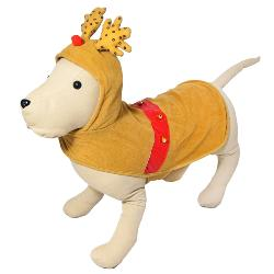 Dogs Life Dress Up Christmas Reindeer Outfit for Dogs