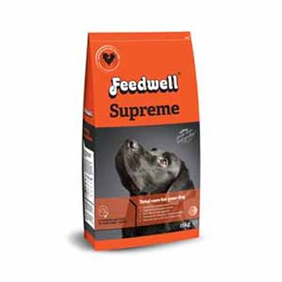 Feedwell Supreme Dog Food - 15kg