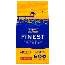 Fish4Dogs Finest Grain Free Dog Food - White Fish with Potato (Adult Small Breed)