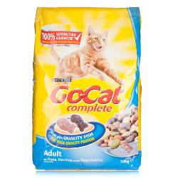 Go Cat Complete Dry Food Adult with Tuna, Herring & added Vegetables 10kg