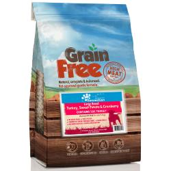 Pet Connection Grain Free Adult Dog Food (Large Breed) - Turkey