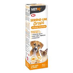 VetIQ Serene-UM Drops Calming Solution For Dogs & Cats - 100ml