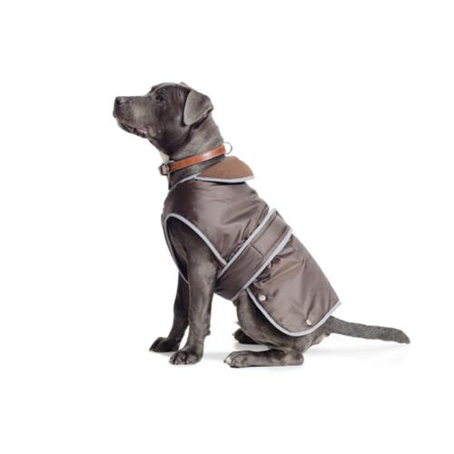Ancol Stormguard Fleece Lined Dog Coat - Chocolate - Extra Extra Large