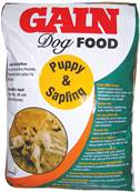 Gain Dog Food for Puppy and Sapling - 15kg