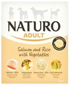 Naturo Wet Dog Food (Adult) - Salmon, Rice and Veg 400g