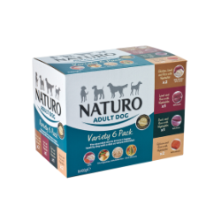 Naturo Wet Dog Food (Adult) Variety Pack - 6 X 400g