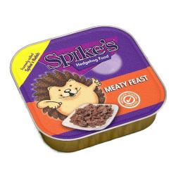 Spikes Hedgehog Food - Meaty Feast 100g