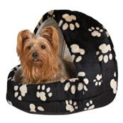 Trixie Charly Cuddly Cave, 40 × 40 × 45 cm, Black/beige