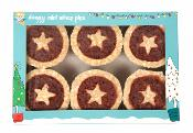 "Armitage Christmas Mini Mince Pies 50mm (2"") 6pk"