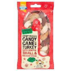 Armitage Pawsley Braided Candy Cane Turkey 12.5cm (Small)