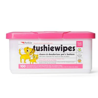 Petkins Tushie Wipes 100 Pack