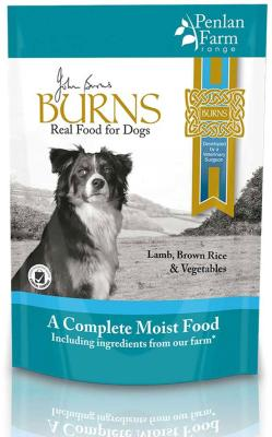 Burns Complete Gluten Free Wet Dog Food - Lamb, Rice and Veg 400g