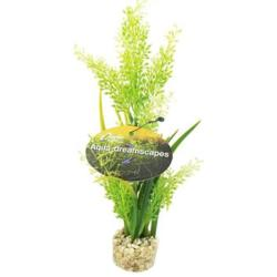 Cheeko Aqua Dreamscapes Aquatic Plant - Tropical Plant In Grass 20cm